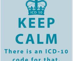 KEEP CALM ICD-10 CODE
